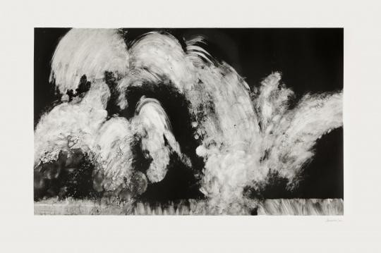 Maggi Hambling_Wall of water_Monotype 08_75x107cm_2011