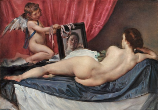 《早安,委拉斯贵兹》 布面油画 108x160cm 2015