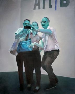 《巴塞尔表情》 布面油画 200x160cm 2015