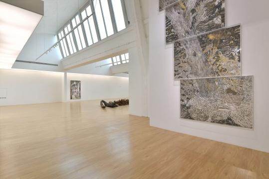 当代唐人艺术中心第二空间展览现场