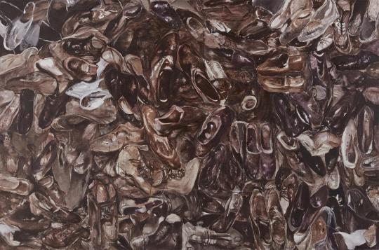《502房间NO.141209》,200x300cm,布面丙烯,2014