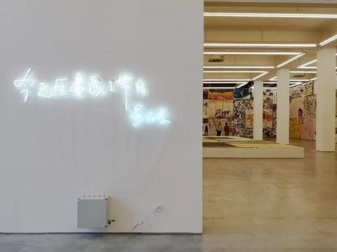 """长征空间,""""八五新潮""""关键人物的吴山专的绘画作品,这是他观念实践的一个转变,即视绘画为一种抵抗当下倦怠综合症的补救"""