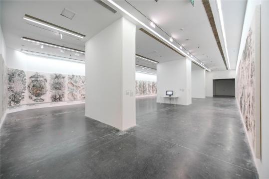 """UCCA尤伦斯当代艺术中心,展览之一""""邱志杰:寰宇全图"""""""