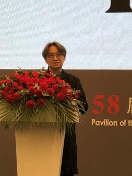 第58届威尼斯国际艺术双年展中国馆策展人吴洪亮