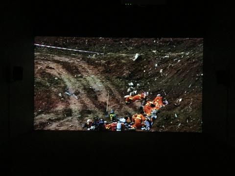 《凡洞》单频录像,彩色有声 47分53秒 2017