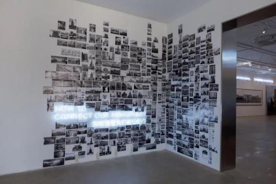 王国锋首展今格空间,用摄影拼起历史图像碎片