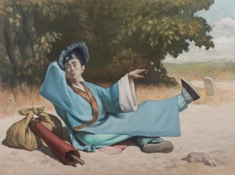 王兴伟《负心汉》布面油画 150x200cm 2017年