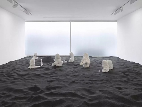 参展艺术家瑞安·甘德过往作品