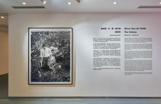 """瑞纳斯·凡·德·维尔德""""殖民地"""",金杜艺术中心展览现场"""