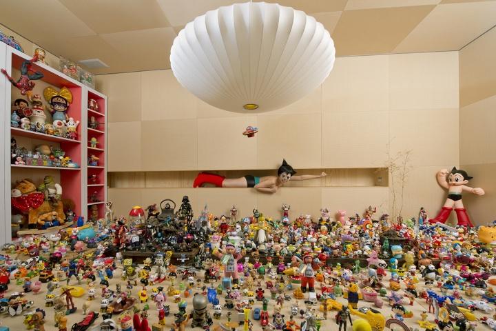 王建扬 《阿童木的小宇宙》 150×225cm 收藏级无酸艺术纸、艺术微喷 2013  2018收藏于台北罐空间