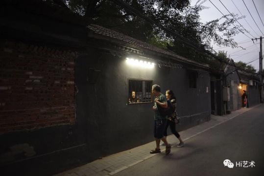 """杨振中""""栅栏"""",箭厂空间展览现场"""