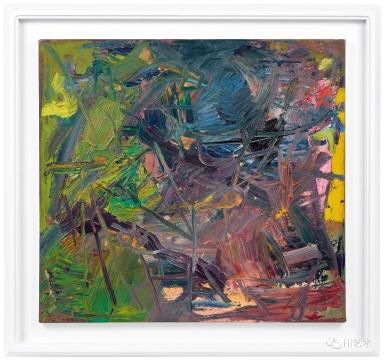 李希特 《抽象画432-4》60.5 × 64.3 cm. 油彩画布 1978 估价: HKD 4,000,000 – 5,000,000