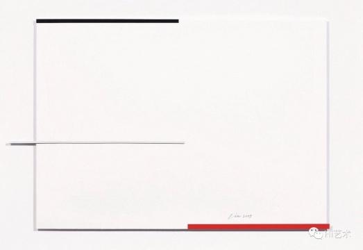 林寿宇 《无题II》 59 × 75 cm 综合媒材纸本 2009 估价: HKD 380,000 – 580,000