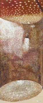 袁远(b. 1973)《桑拿之三》150×63 cm 油彩 画布 2010  估价: HK$ 220,000 – 320,000