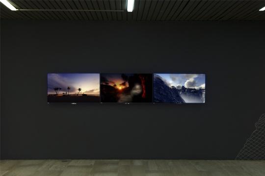 """""""视界!世界!""""部分参展作品,安德鲁·罗伯茨《如何卖掉太阳》,墨西哥驻华大使馆"""