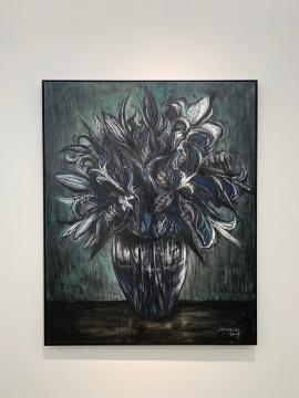 刘养闻 《无题19-3》 138×110cm 布面油画 2019
