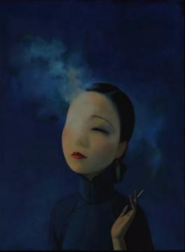 刘野 《神女》 布面丙烯 60x45cm 2018