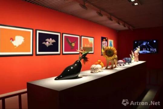 """""""卡地亚当代艺术基金会:陌生风景""""展览现场"""