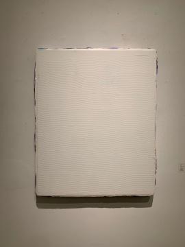 马树青 《无题16-19-3》 70×60cm 布面丙烯 2016-2019