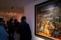 向经典致敬,在今日美术馆看武宁亚对《宫娥》的知识性考古