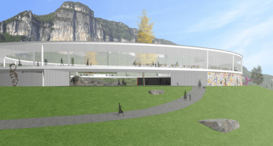 懒坝美术馆是海南锦鸿集团旗下重庆市武隆县仙女山旅游投资有限公司出资,于2016年12月7日成立的一家民营美术馆。八月三日艺术季的开幕式将在这里举行。
