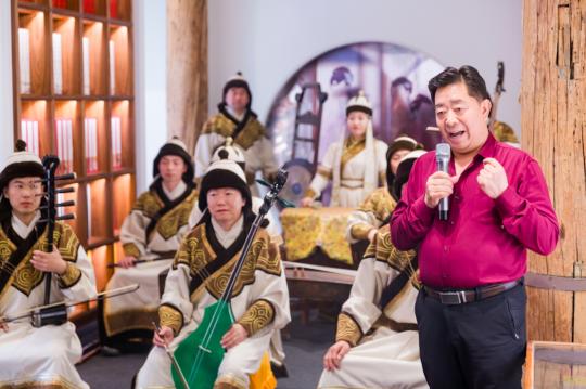 蒙古音乐表演