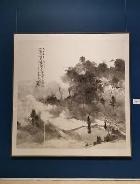 安永平 《故园旧梦》纸本水墨