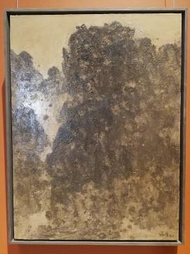 徐福厚 《西边的人》 布面油画