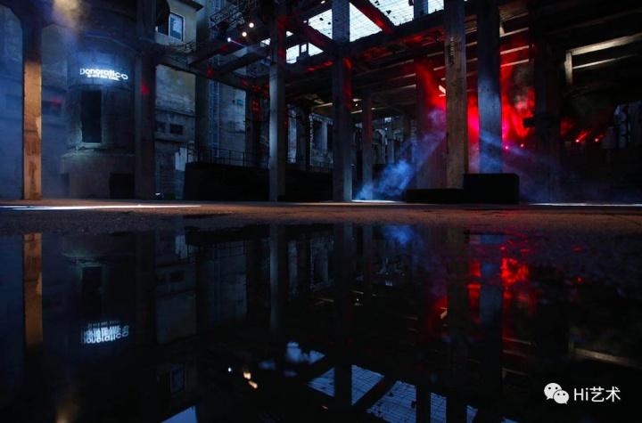 """""""生而荒野Being Wild"""" Donoratico达衣岩×River Tooth 2019秋冬发布会走秀现场"""