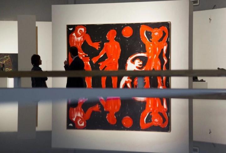 """""""重整·德国艺术立场""""南京艺术学院美术馆展览现场"""