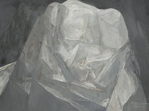 《神山仙乃日》150x200cm布面油画 2008