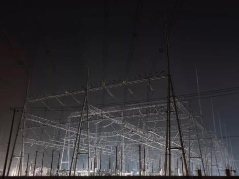 胡为一《信仰》97.5x130cm 摄影、数码微喷、哈内姆勒纯棉硫化钡 2019