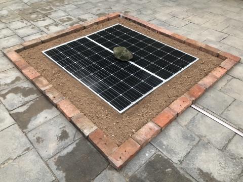 管怀宾 《炫迹》 太阳能蓄电板 2019
