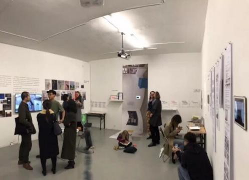 2019年3月20日 的|艺术中心《我们在做什么——独立空间2018文献展》开幕现场
