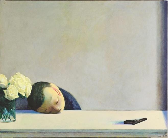刘野《罗密欧》65×80cm 布面丙烯 2002