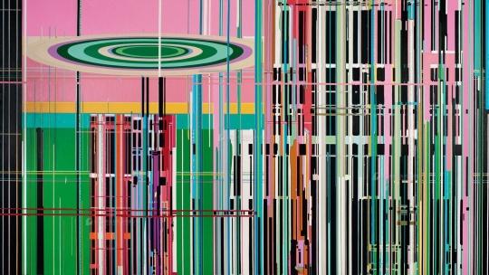 刘韡 《紫气S》 220×400cm 布面油画 2010估价:280万-380万元