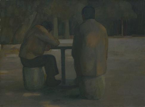 王音《采薇》80×110cm 布面油画 2010