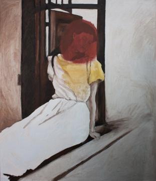 赵刚《无题》155×130cm布面油画 2007