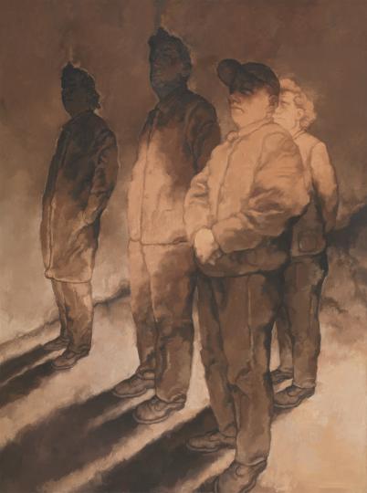 《远方6号》 200×150cm 布面油画2018