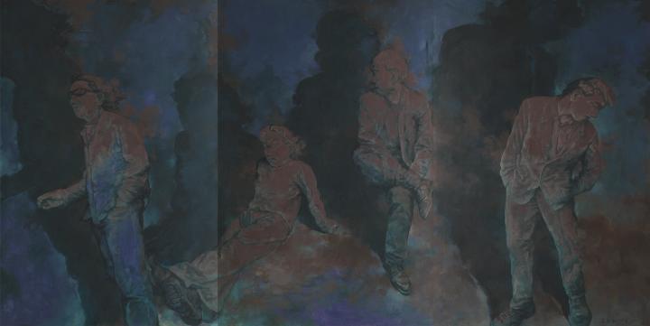 《二零一九》300×600cm 布面油画 2019