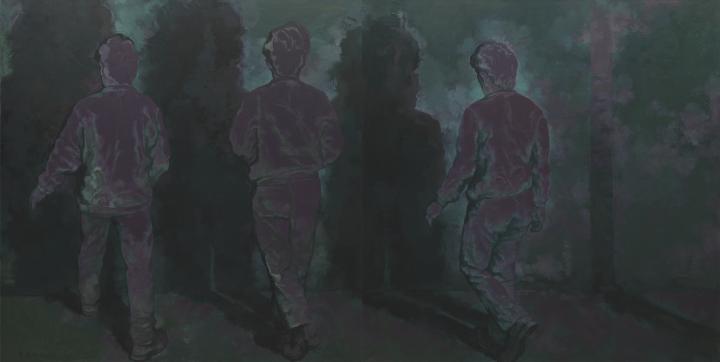 《远方7号》250×500cm 布面油画2019