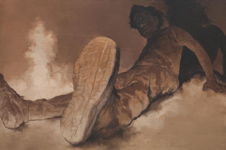 《高地1号》130×194cm 布面油画2018