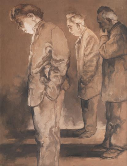 《同志2号》 130×100cm 布面油画2018