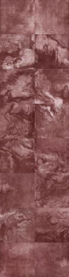 《红之五》 224×56cm(28×28cm×16) 铜版画 2018