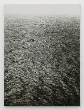 石至莹《海 · 太平洋》240×180 cm 布面油画 2011