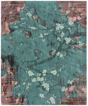 《满堂春》166×138cm木板综合材料2019