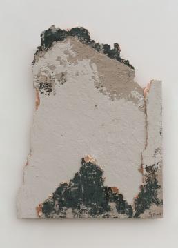 《残山之春山空》118×90cm木板综合材料2019