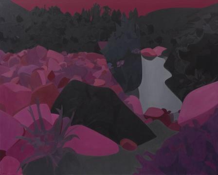 《阿卡迪亚》 200×250cm布面油画 2018