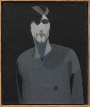 《Boddah 1》50×60cm布面油画 2019