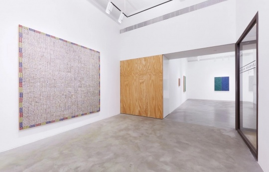 麦克阿瑟·比尼恩在立木画廊(香港)展览现场
